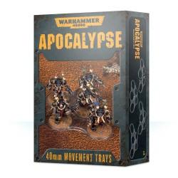 Warhammer 40000 Apocalypse Movement Trays 40mm