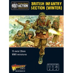 Bolt Action British Infantry section Winter