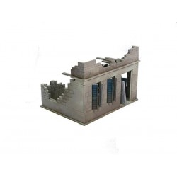 Bolt Action Small Destroyed North Africa House