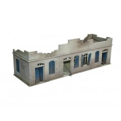 Bolt Action Large Destroyed North Africa House