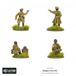 Bolt Action Belgian Army HQ