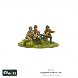 Bolt Action Belgian Army MMG Team