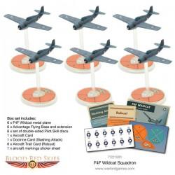 Blood Red Skies F4F Wildcat Squadron