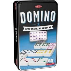 Domino Double Nine dziewiątkowe w puszce