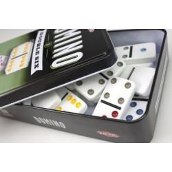 Domino Double Six szóstkowe w puszce