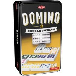 Domino Double Twelve dwunastkowe w puszce