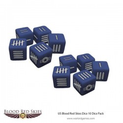 Blood Red Skies US Dice Set