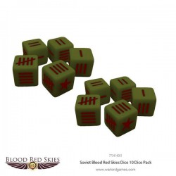 Blood Red Skies Soviet Dice Set