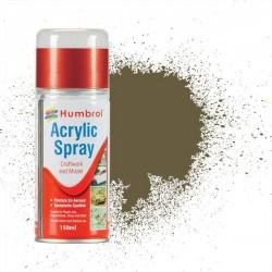 Humbrol Spray No 86 Light Olive Matt