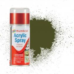 Humbrol Spray No 155 Olive Drab Matt