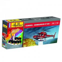 Heller 56485 1:48 Ecureuil Bombardier D'Eau