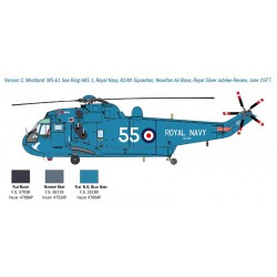 Italeri 1433 1:72 SH-3D Sea King Apollo Recovery 50th Moon Landing