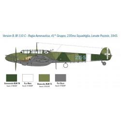 Italeri 1433 1:48 Messerschmitt Bf 110C/D