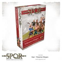 SPQR Gaul Tribesmen Slingers
