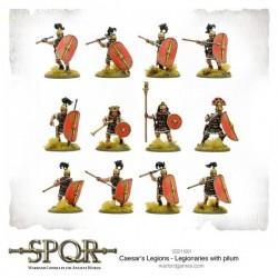 SPQR Caesar's Legions Legionaries with Pilum