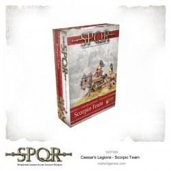 SPQR Caesar's Legions Scorpion Team