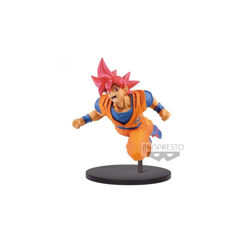 Figurka Dragon Ball Collection Figurine Super Saiyan God Son Goku 20cm