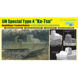 """Dragon 6849 1:35 IJN Special Type 4 """"Ka-Tsu"""" w/Torpedo """"Operation Tatsumaki"""""""