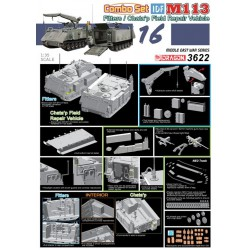 Dragon 3622 1:35 IDF M113 Fitters & Chata'p Field Repair Vehicle