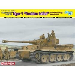 "Dragon 6608 1:35 Pz.Kpfw.VI Ausf.E Sd.Kfz 181 Tiger 1 ""Tunisian Initial"" s.Pz.Abt.501 and Pz.Rgt.7 Tunisia 1942-43"