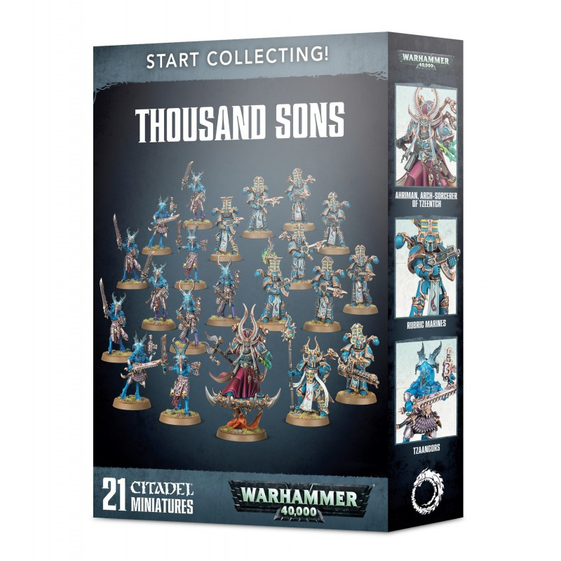 Start Collecting! Thousand Sons Warhammer 40K