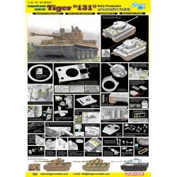 "Dragon 6820 1:35 Tiger I ""131"" s.Pz.Abt.504 Tunisia Smart Kit"