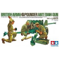 Tamiya 35005 1:35 British Army 6 Pounder Anti-Tank Gun