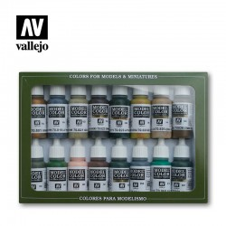 Vallejo 70114 Model Color WWII German Camouflage Set