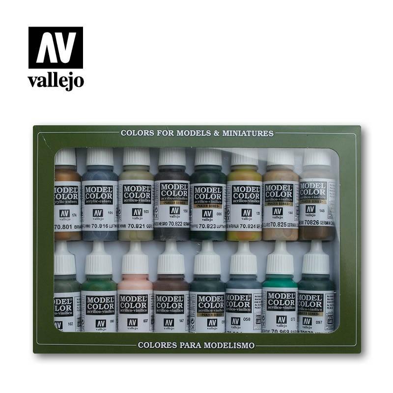 Vallejo 70114 Model Color WWII German Camouflage Set