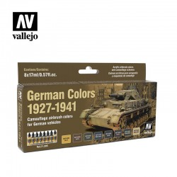 Vallejo 71205 German Colors 1927-1941 Set