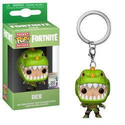 Funko Pocket POP Fortnite Rex Vinyl Figure Breloczek