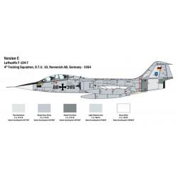 Italeri 2509 1:32 Lockheed Martin TF-104 G Starfighter