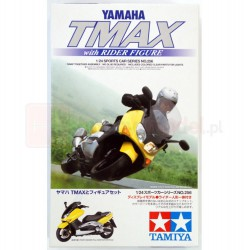 Tamiya 24256 1:24 TMAX w/Rider Figure