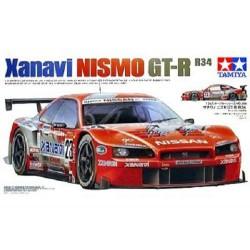 Tamiya 24268 1:24 Xanavi Nismo GT-R (R34)