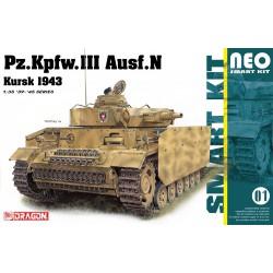 Dragon 6559 1:35 Pz. Kpfw. III Ausf.N Kursk 1943