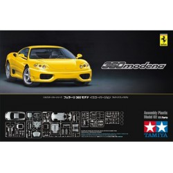 Tamiya 24299 1:24 Ferrari 360 Modena Yellow Version