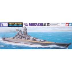 Tamiya 31114 1:700 Japanese Battleship Musashi