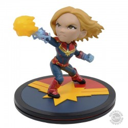 Diorama Marvel Q-Fig Captain Marvel