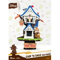Diorama Disney Summer Series D-Stage Chip 'n Dale Tree House 16 cm