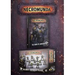 Necromunda Palanite Enforcer Patrol & Book Set
