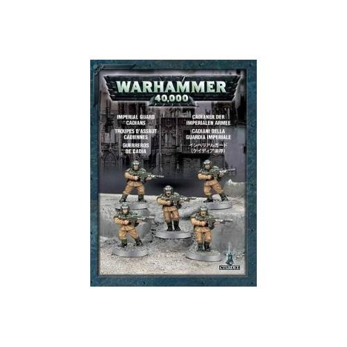 WARHAMMER 40000 CADIANS (5 MODELI)