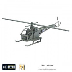 Bolt Action Sioux Helicopter
