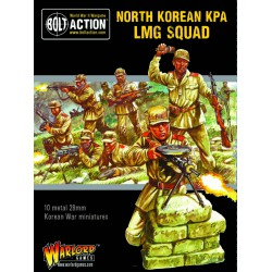 Bolt Action North Korean KPA LMG Squad