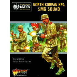 Bolt Action North Korean KPA SMG Squad