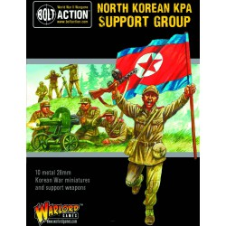 Bolt Action North Korean KPA Support Squad
