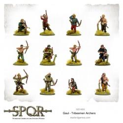 SPQR Gaul Tribesmen Archers