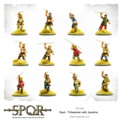 SPQR Gaul Tribesmen with Javelins