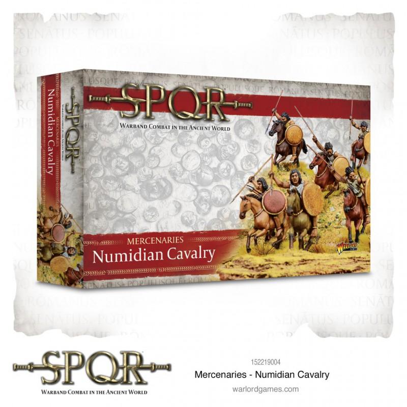SPQR Mercenaries Numidian Cavalry