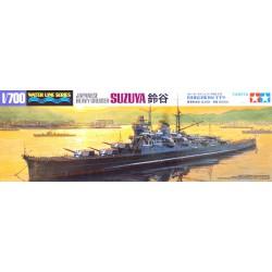Tamiya 31343 1:700 Japanese Heavy Cruiser Suzuya