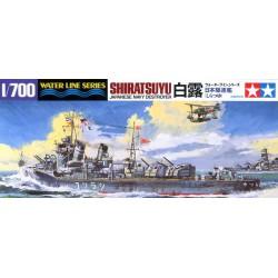 Tamiya 31402 1:700 Japanese Destroyer Shiratsuyu